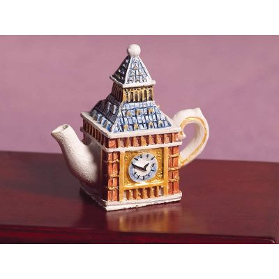 'Big Ben' Sculptured Teapot (PR)