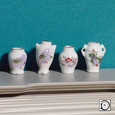 Pretty Vase Collection, 4 pcs