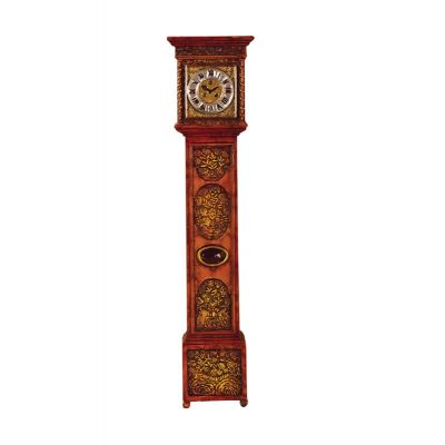 Ornately Carved Grandfather Clock (PR)