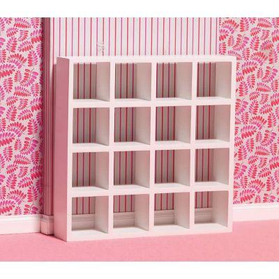 White Display Shelves