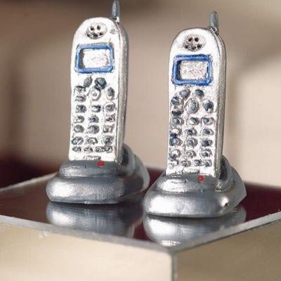 'Cordless' Telephones, 2 pcs
