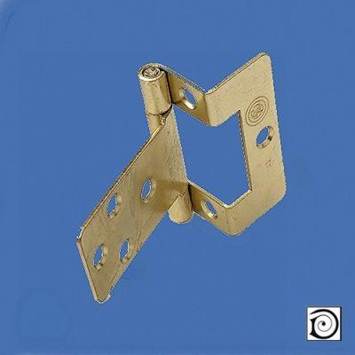 12.5mm Single Cranked Hinge, excluding screws. Needs screws 9214
