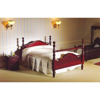 Victorian Pediment Double Bed (M)