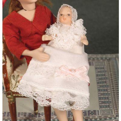 Baby Ada Doll, in Long Dressd