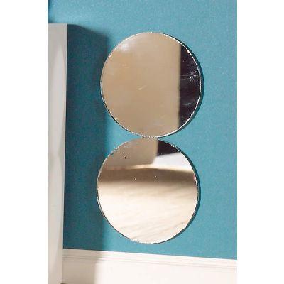Small Round Mirrors, 2 pcs
