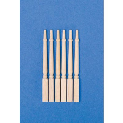 Square-based Spindles, 12 pieces
