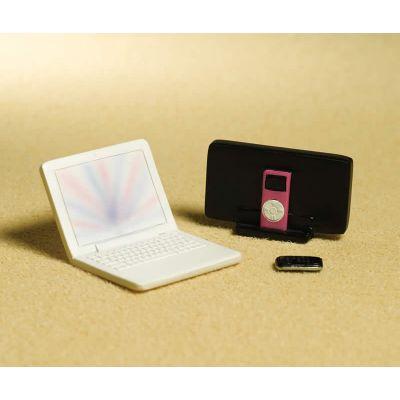 Laptop, MP3 & Mobile Phone set, 3 pcs (PR)