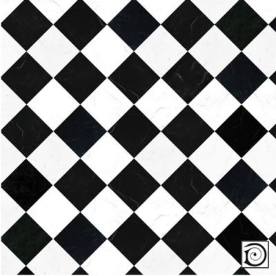 Black & White 'Marble' Tile Paper (A2 size)