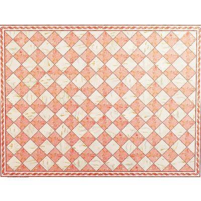 Luxury Pink 'Marble' Flooring