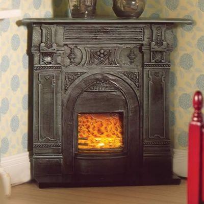 Black Corner Fireplace (PR)