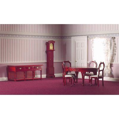 Traditional Dining Set, 7 pcs