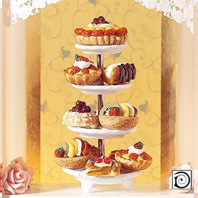 Selection of Deluxe Cakes & Pastries (stand not incl.)