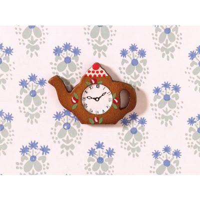 Teapot-shaped Clock
