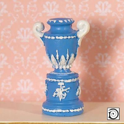 Decorative 'Jasper' Blue Trophy Vase (PR)