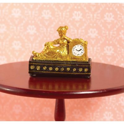 'Gold' Ormolu-style Clock (PR)