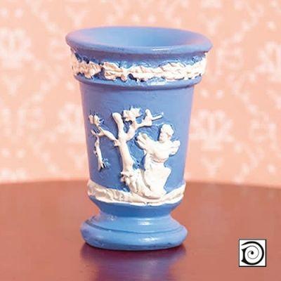 'Jasper' Blue Vase (PR)