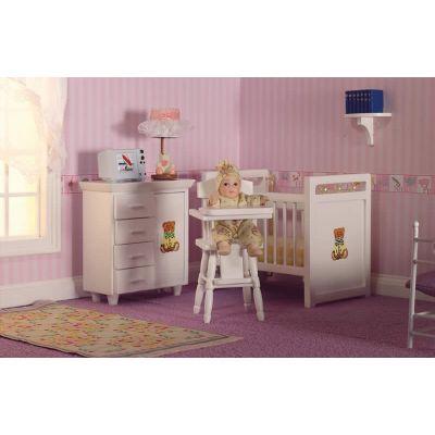 Teddy Nursery Set, 3 pcs