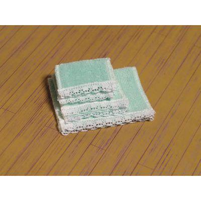 Soft Green Towel Set, 4 pcs