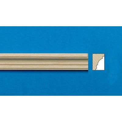 Lightwood Cornice 6 pieces, square cut, 300mm long