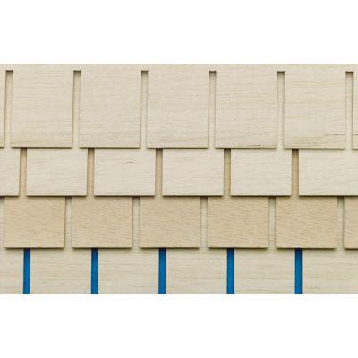 Roof Tile Strips, 4 pcs