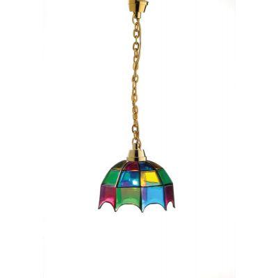 Coloured 'Tiffany' Light