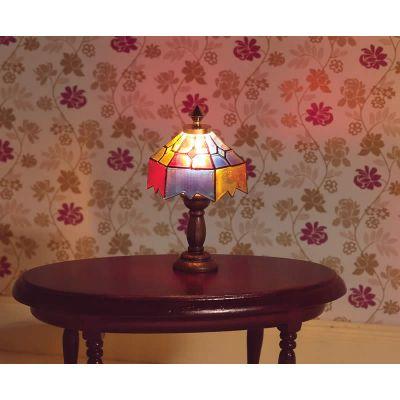 Coloured 'Tiffany' Lamp