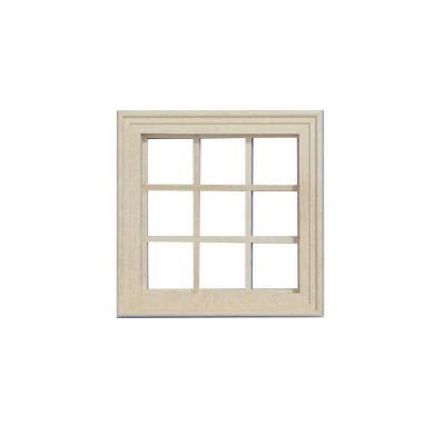 Small Wooden Window (unpainted)