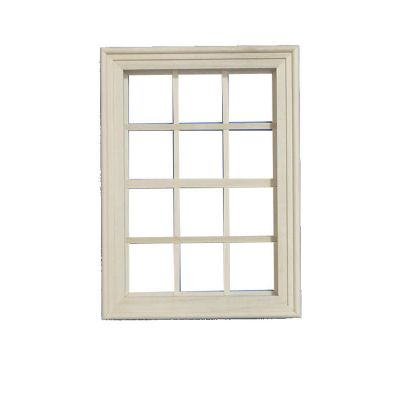 Medium Wooden Window (unpainted)