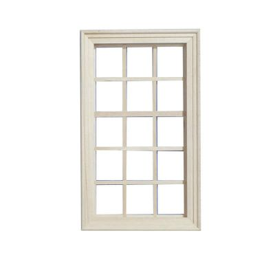 Large Wooden Window fits opening