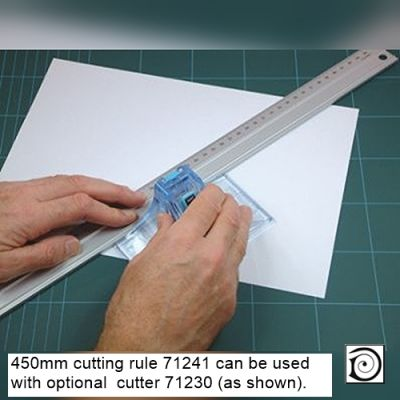 450mm cutting rule