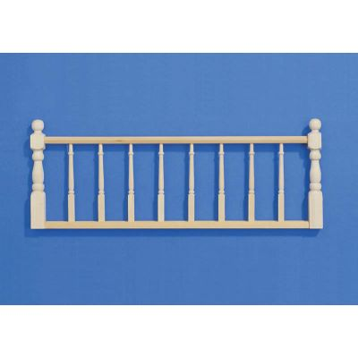 Wooden Railing Assembly