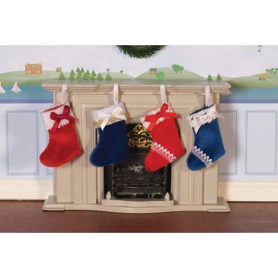 Luxury Christmas Stockings, 4 Pcs