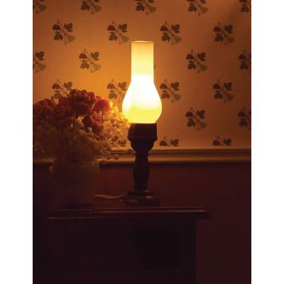 Table Lamp with Long Funnel