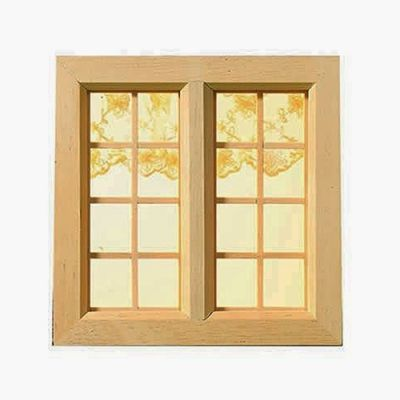 Cottage Wooden Window, Medium