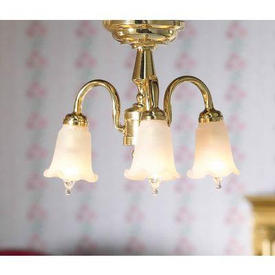 Three Hanging Tulip Light