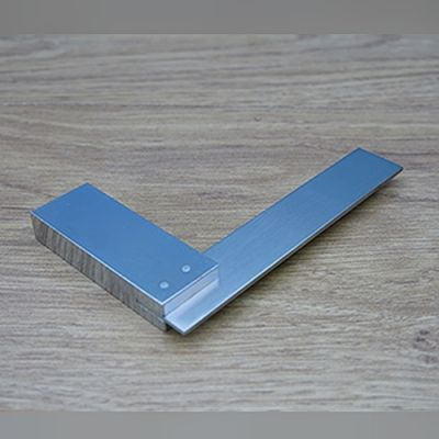 """4"""" Tri square, stainless HQ"""