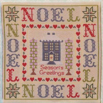 Christmas 'NOEL' Sampler