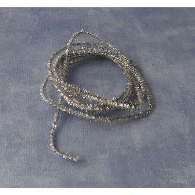 'Silver' Christmas Tinsel. Length