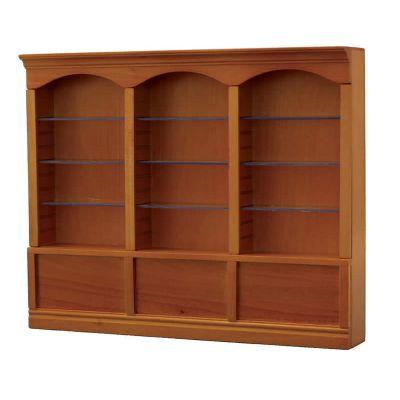 Pine Deluxe Triple Shelves