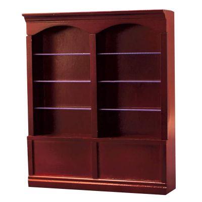 Mahog Deluxe Double Shelves