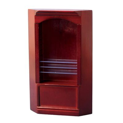 Mahog Deluxe Single Corner Shelf