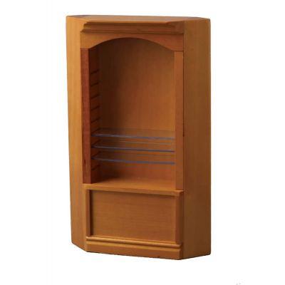 Pine Deluxe Single Corner Shelf