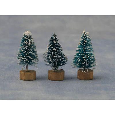 Snowy Tree 4cm pk2