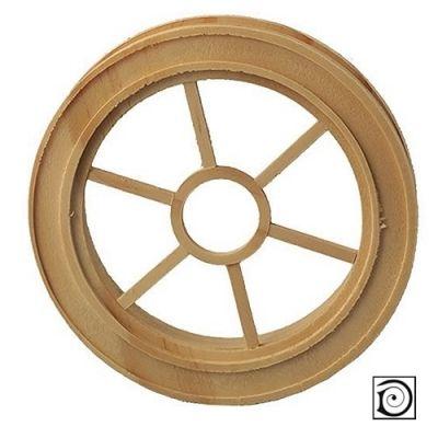 Grosvenor Round Wooden Window
