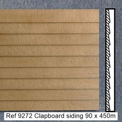 Clapboard siding 90 x 450mm, pk4