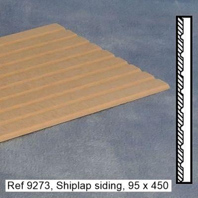 Shiplap siding 95 x 450mm, pk4
