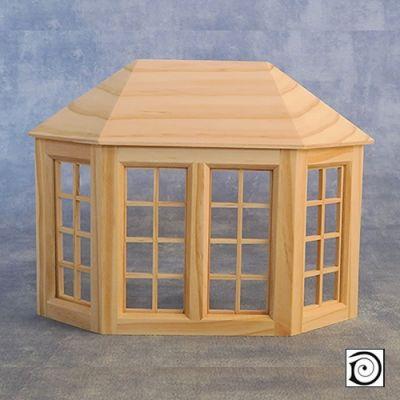 April Cottage bay window