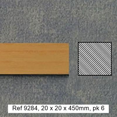 20 x 20 x 450mm timber, pk6