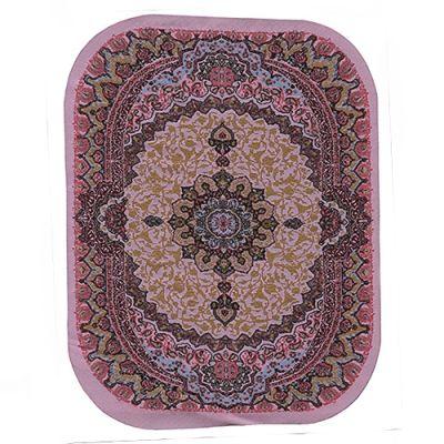 Large oval carpet pink