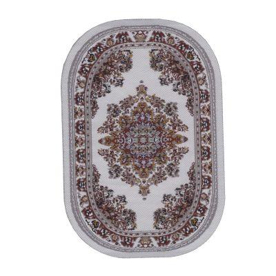 Small Oval Carpet Cream 9350